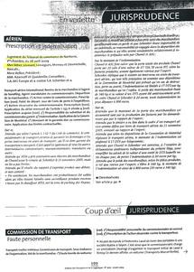 Bulletin des Transports et de la Logistique n°3277, 2009