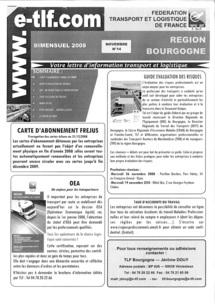 Lettre d'information TLF BOURGOGNE, 2008