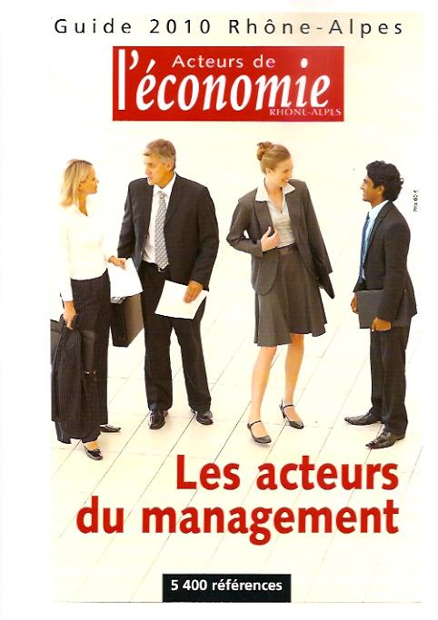 Acteurs de l'Économie - Rhône-Alpes, 2010