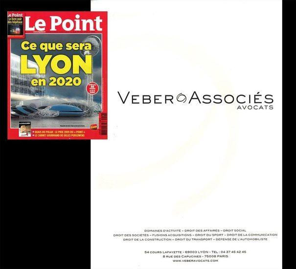 Le Point, mars 2009