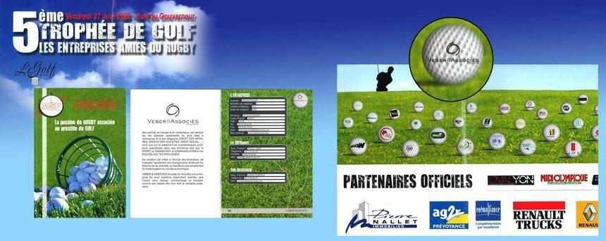 5ème trophée de Golf - Les Entreprises Amies du Rugby, 2008