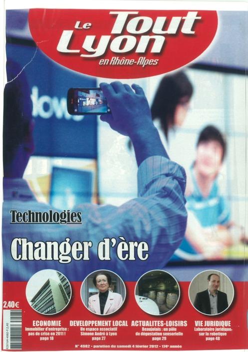 LE TOUT LYON - Février 2012 - ROBOLEX, le premier laboratoire juridique sur la robotique