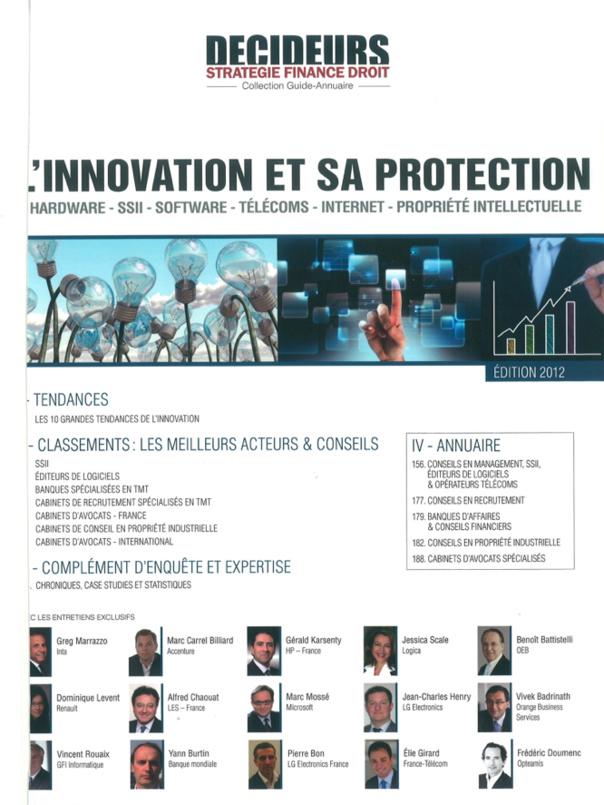 DECIDEURS 2012 -L'innovation et sa protection - L'erreur sera-t-elle encore humaine