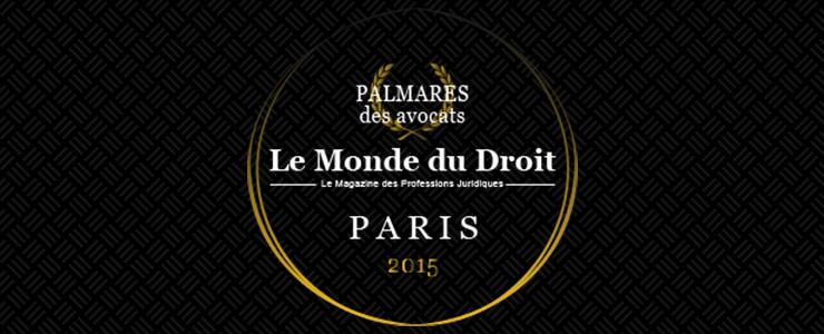VEBER Avocats obtient de l'Or à Paris en Droit du Sport