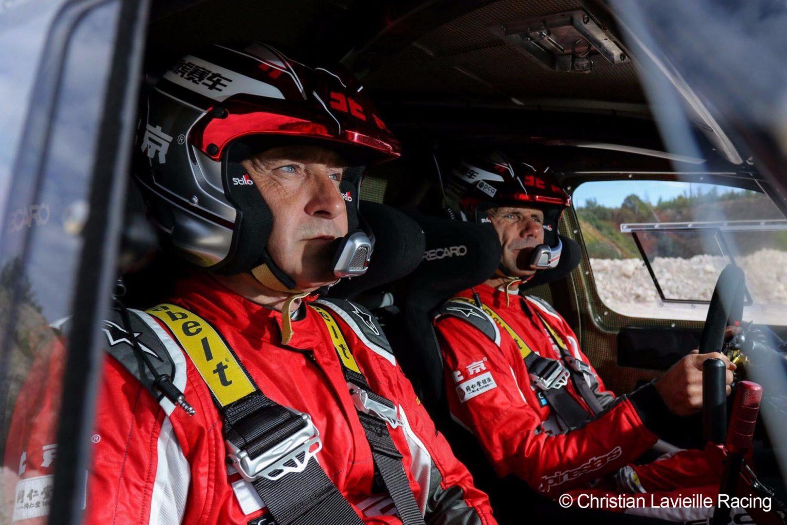 Christian Lavieille et Jean-Pierre Garcin : Victoire sur le Taklimakan Rally