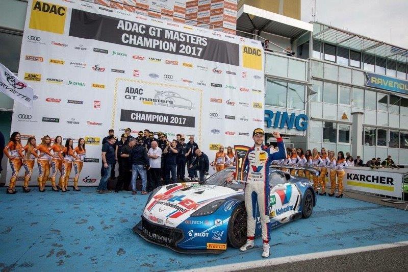 Jules GOUNON, nouveau champion d'Allemagne GT3 !