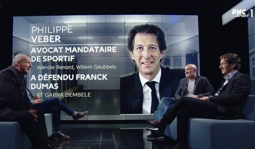 Philippe Veber invité de l'émission Le Vestiaire