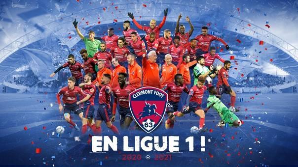 Clermont Foot 63 en Ligue 1 !